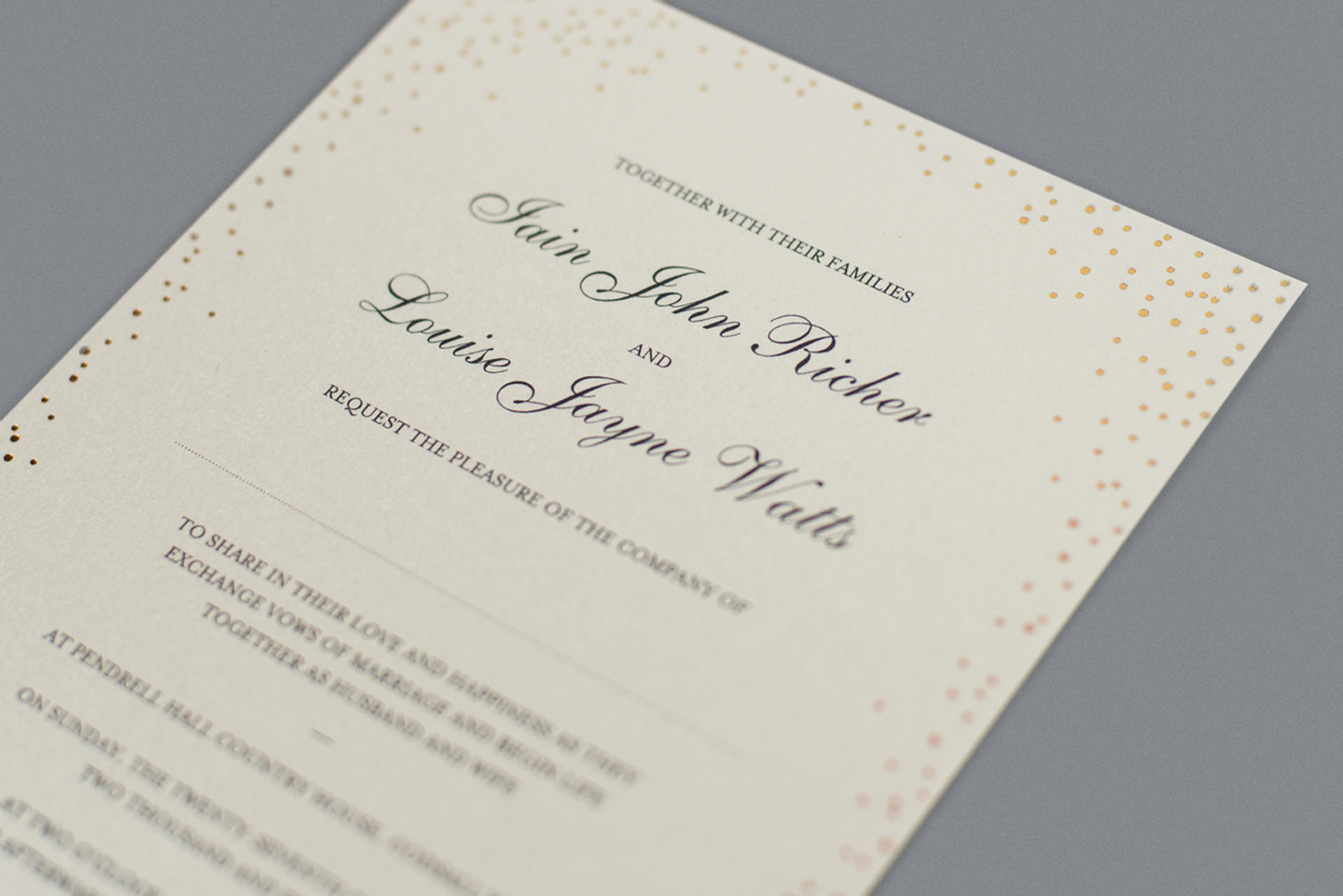 Wording For Wedding Invitations – The Fundamentals