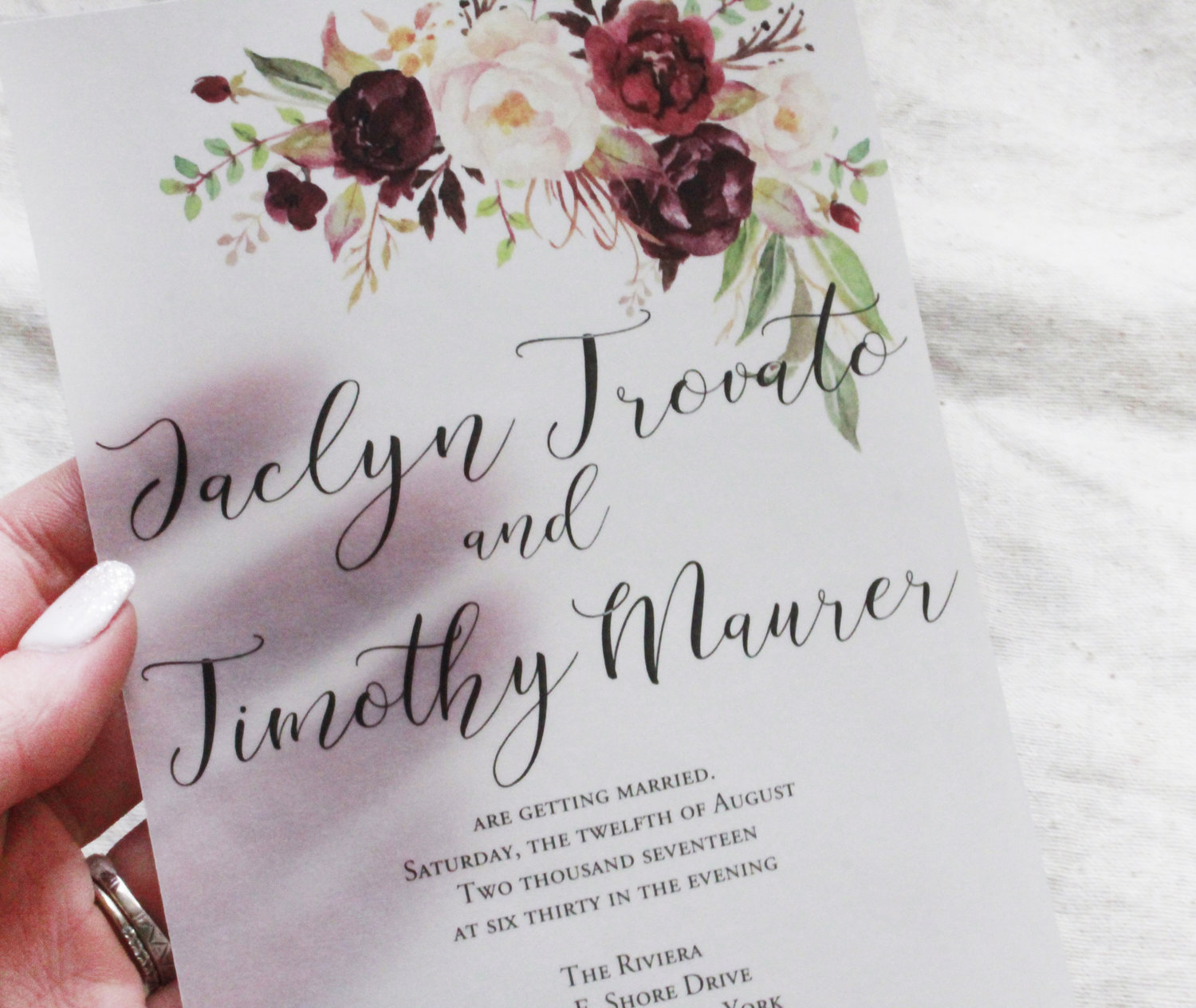 The Very Best Hand crafted Wedding Invitations