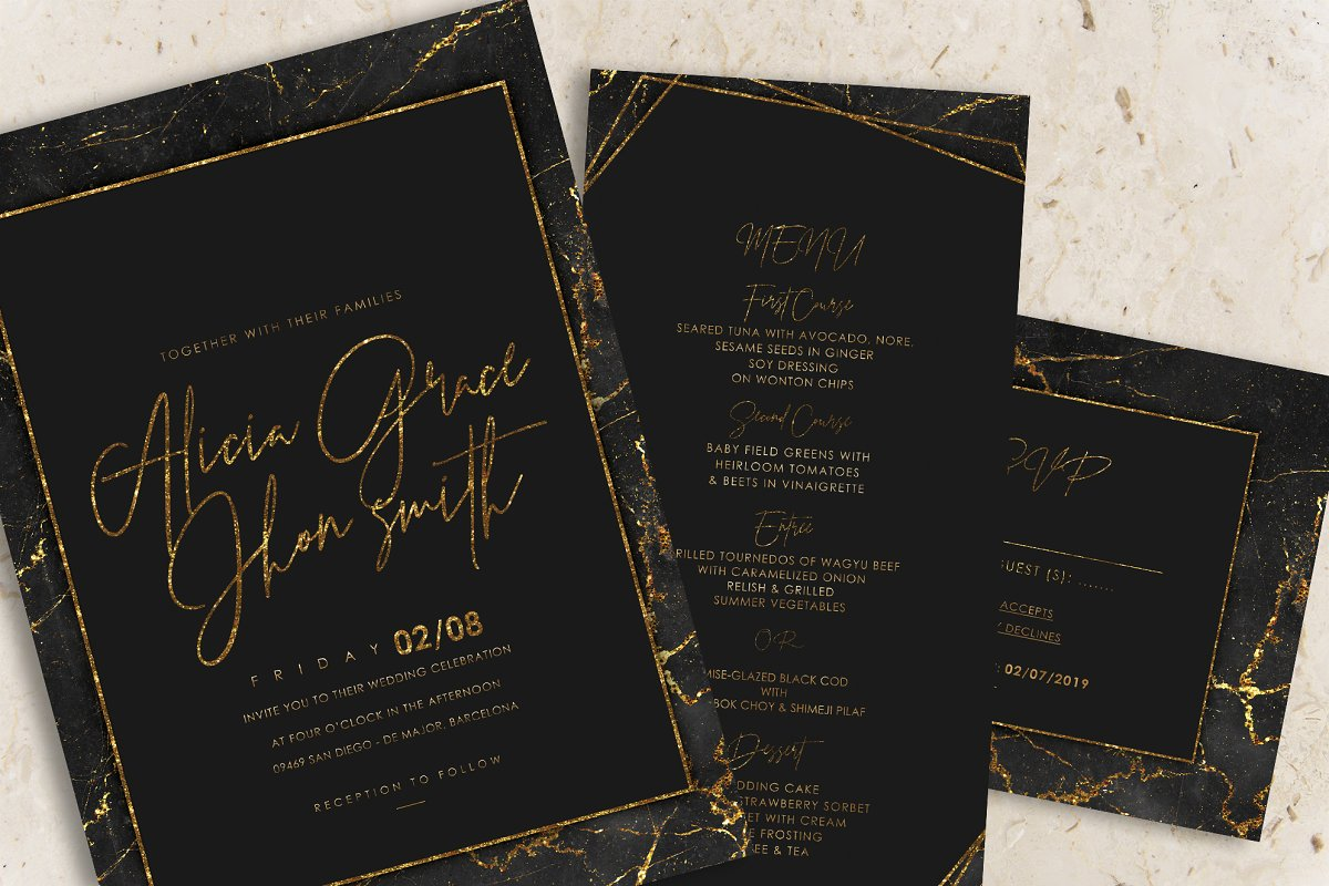 Perfect Styles for Wedding Invitations