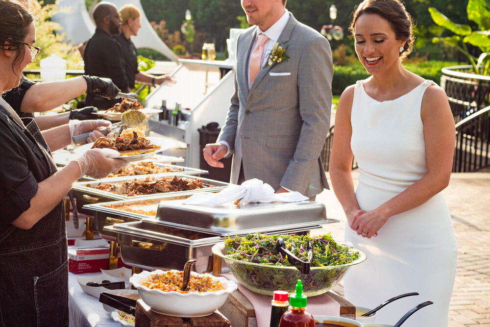 How Can You Get The Most Out of Your Wedding Catering Budget?
